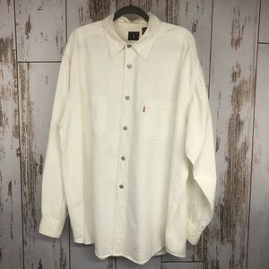 Levi's Red Tab Button Up Shirt, Size XL